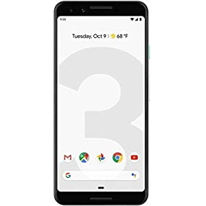 Google Pixel Phone 3-64GB Clearly White (Renewed)