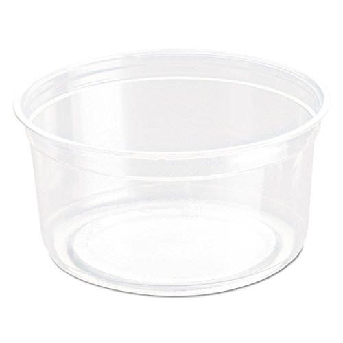Bare Eco-Forward Rpet Deli Containers, 12 Oz, Clear, 50/pack, 10/carton