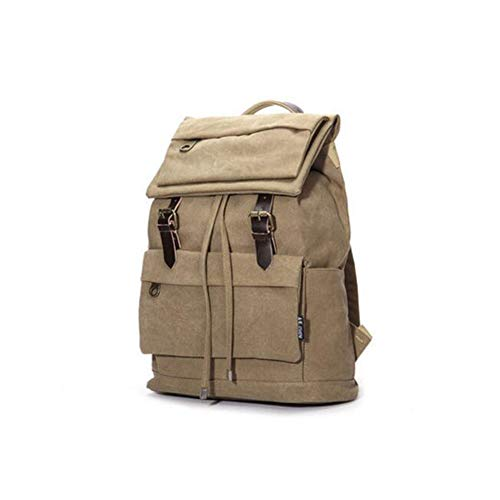 FH FHWeekender Casual Backpack Canvas Backpack Korean Version of The Bag by FH