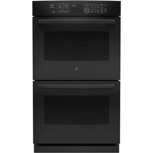 GE PT7550DFBB Profile 30″ Black Electric Double Wall Oven – Convection