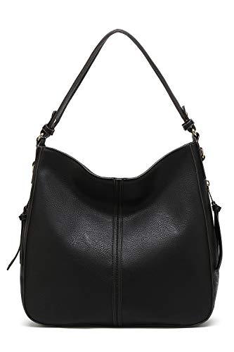 Style Strategy Iowa Hobo Bag (Black - 17907)