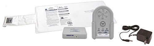 Secure Wireless Bed Exit Alarm Set for Patient Fall Management and Wandering Prevention - 12