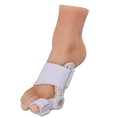(Silipos 92834 Day and Night Gel Bunion Splint - Washable Soft Gel Toe Separator, Latex-Free Bunion Corrector. Foot Care Products)