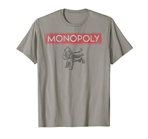 (Hasbro Monopoly Scottie Dog With Logo T-Shirt)
