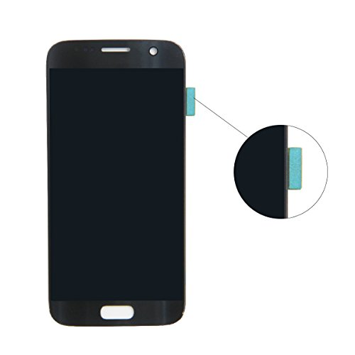 HJSDtech LCD Display Screen Touch Screen Digitizer Assembly Replacement for Samsung Galaxy S7 SM-G930 G930A G930F G930R4 G930P G930T G930V G930W8 (Black) by HJSDtech (Image #2)