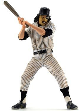 Mezco Toyz Warriors 9 Inch Deluxe Series 1 Cloth Outfit Figure Baseball Fury - The Warriors Baseball Gang Costume