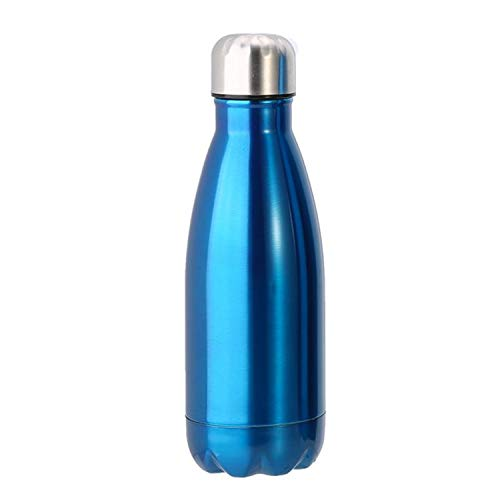 Under Cabelas Armour - 350/500/1000ml Thermal Cup Vacuum Flask Heat Water Bottle Stainless Steel Heat Insulation Drink Bottle Thermos Vacuum Portable,350ml,Blue