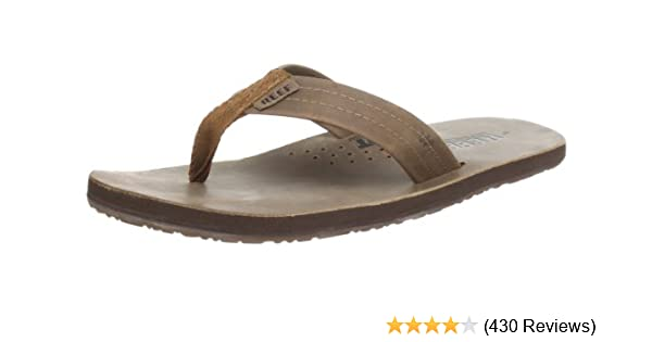 2837b0a8af4 Amazon.com  Reef Mens Leather Sandals Draftsmen