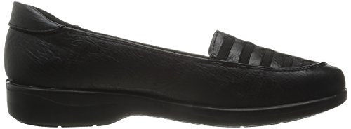 Tobacco Burnish Genesis Street Flat Women's Easy Black wSAzOIzq