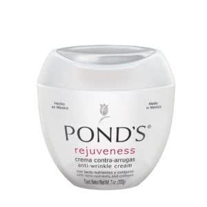 Pond's Ponds Rejuveness Anti-wrinkle Cream with Lacto-nutrients and Collagen 7-Ounce (Pack of 2)