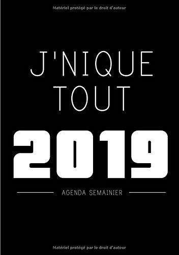 Amazon.com: Agenda: Semainier - Petit Format A5 - Jnique ...