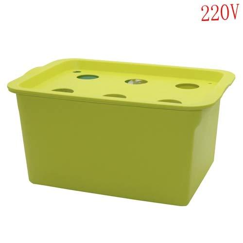 - Best Quality - Nursery Pots - Sets 220V/110V Plant Site Hydroponic Systems 6 Holes Nursery pots Soilless Cultivation Plant Seedling Grow Kit - by GTIN - 1 PCs