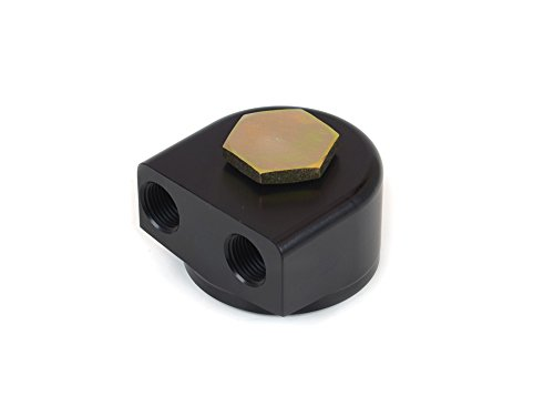 Canton Racing 22-595 Oil Filter (Aluminum Remote Adapter for Ford and Mopar 90 Degree Rotating)