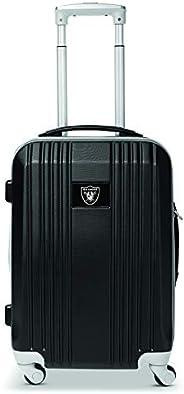 Denco NFL Unisex-Adult NFL Round-Tripper Two-Tone Hardcase Spinner