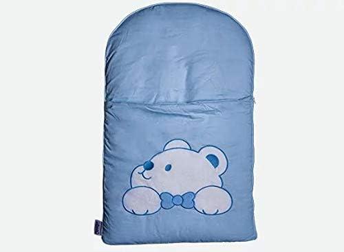 zCush BNM-CT-BL-EM Cotton Characters Nap Mat, Plushy Paws Blue