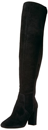 The Fix Women's Lyndsey Over-The-Knee Block-Heel Boot, Black, 7.5 M US