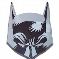 chrome batman emblem - 7