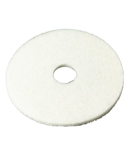 3M 4100 Series White Super Polish Pad, 11