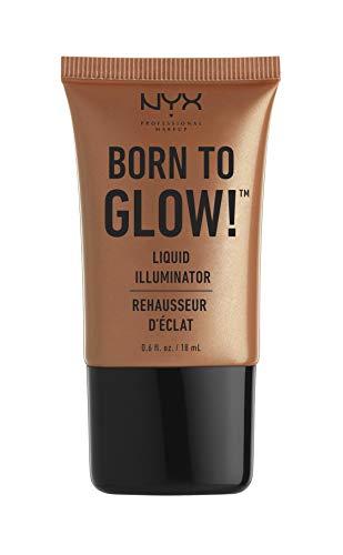 NYX PROFESSIONAL MAKEUP Born To Glow Liquid Illuminator, Sun Goddess, 0.60 Ounce