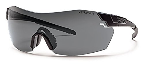 Smith Pivlock V2 Max Elite Sunglasses Black / Clear / Gray / Ignitor & Cleaning Kit - Pivlock Max Sunglasses Smith V2