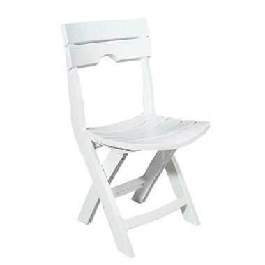 Quik-Fold White Patio Chair Review
