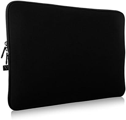 V7 CSE16BLK3N Laptophoes voor laptops tot 406 cm 16 inch waterafstotend neopreen zwart