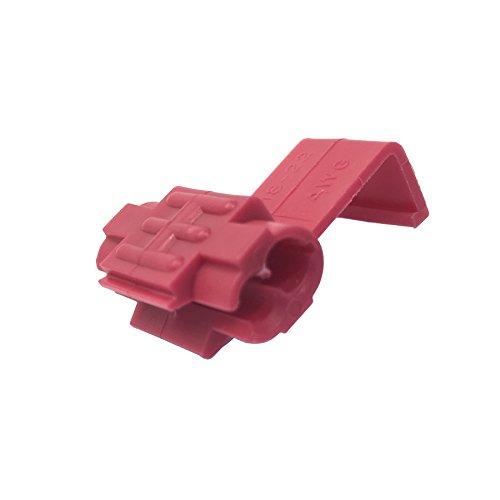 Gardner Bender 20-2218 Tap Splice 22-18 AWG, 5 Pack, Red ()