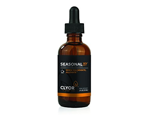 Seasonal37 - Cold Remedy - Fast Acting Cold Relief - All Natural Herbal Immune Booster Cold Flu Cough Respiratory Congestion, Elderberry, Ginger & Echinacea Herb 2oz - SEASONAL37 by Clyor by CLYOR (Image #6)