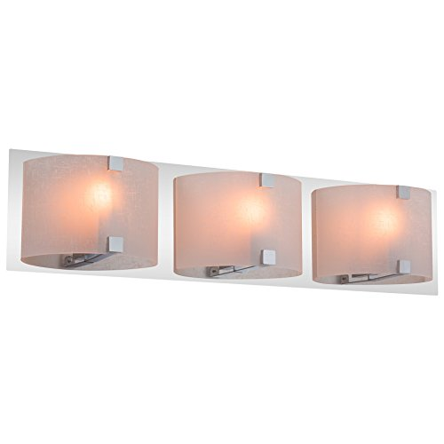 Fixture Contemporary (Kira Home Orion 3-Light Polished Chrome 25
