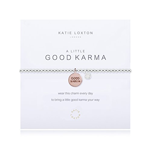 - Katie Loxton - A Little Good Karma - With Rose Gold Disc - Bracelet
