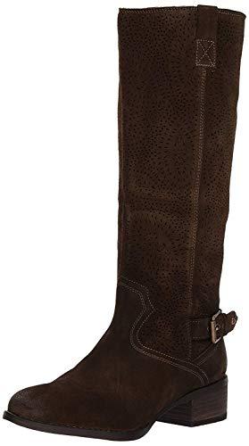Naughty Monkey Women's Ziba Riding Boot, Dark Olive, 8 M ()