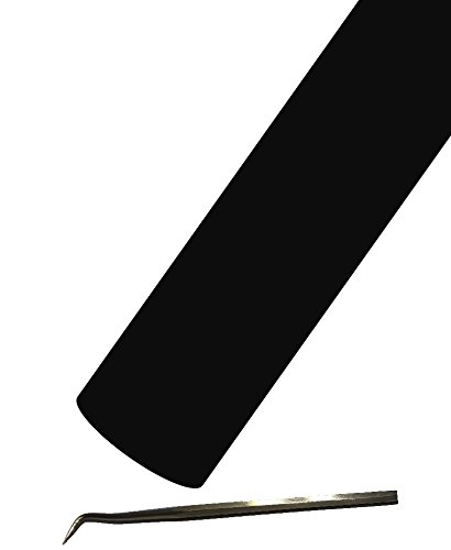 Siser EasyWeed Heat Transfer Vinyl HTV for T-Shirts 12 Inches by 25 Feet Bulk Roll (Black)