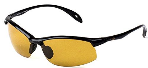 Naute Sport - The Force - Lightweight, Polarized, Color Adjusting (Black, - Adjusting Light Sunglasses