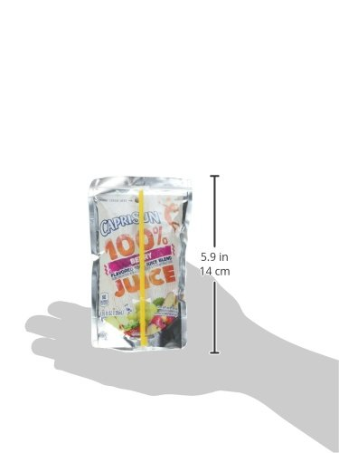 Amazon.com : Capri Sun 100% Juice Berry Pouch, 6 Ounce (Pack of 40) : Grocery & Gourmet Food