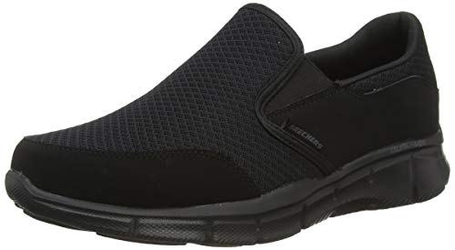 Skechers Sport Men's Equalizer Persistent Slip-On Sneaker, Black, 10 XW US