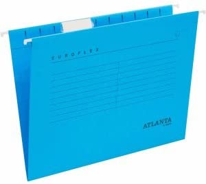 #25xAtlanta Hängemappe A4 blau