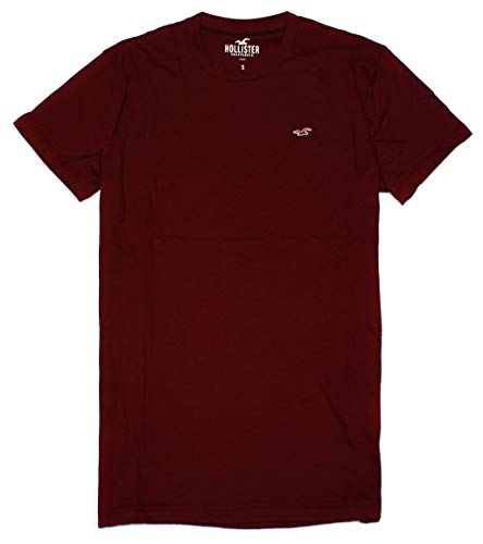 Hollister Men's Must-Have Crew Neck T-Shirt HOM C (Large, 0480-520) from Hollister Co..