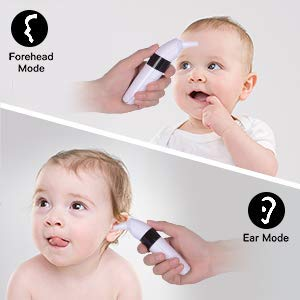 Gland Baby Digital Ear Forehead Thermometer for Fever, 2-in-1 Infrared Baby Thermometer