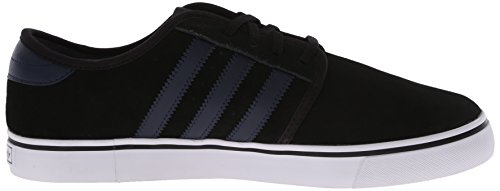 adidas Originals SEELEY de hombres Lace Up Zapatos Black/Collegiate Navy/White