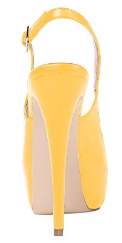 AOOAR - Plataforma Mujer Gelb/PU