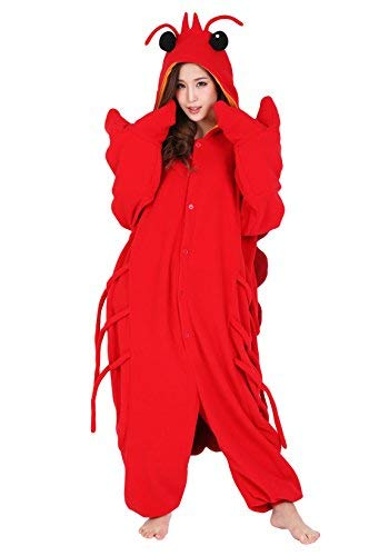 Lobster Kigurumi - Adults Kigurumi, Adults, Red ()