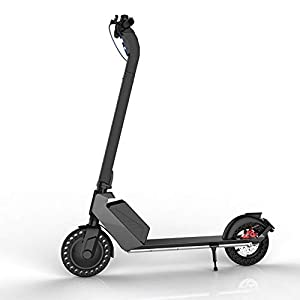 31zDOqnvnyL. SS300 HAOYF Monopattino Elettrico per Adulti 350W Motore, Scooter Elettrico A Lunga Distanza da 25 Km con Luce LED, E-Scooter…