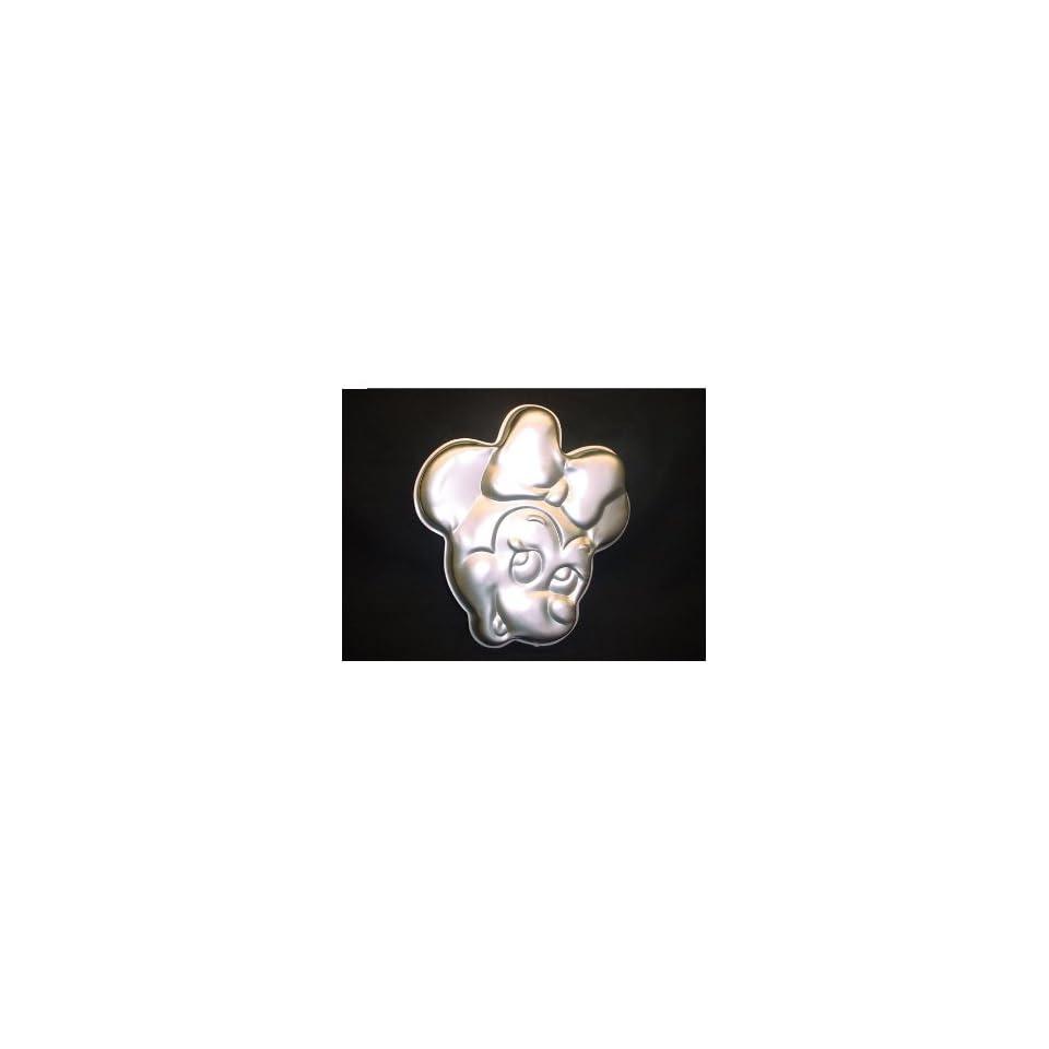 Minnie Mouse Face Walt Disney Wilton Cake Pan #515 809