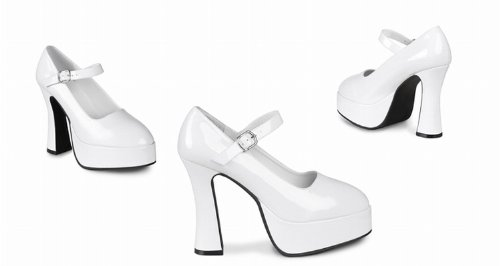 Chaussures blanches vernies femme - Pointure 37