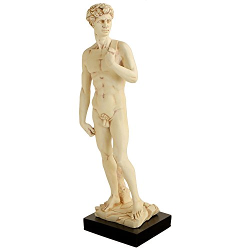 Culture Spot Michelangelo Statue by David with Stone Finish | 15 Inches
