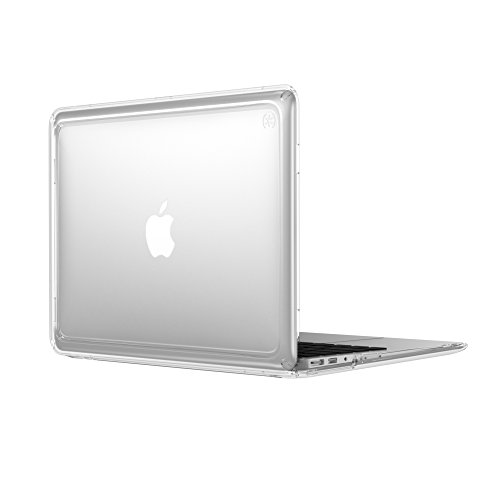 (Speck Products 92382-5085 Presidio Clear Laptop Case, MacBook Air 13