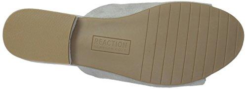 Kenneth Cole Reaktion Kvinna Vanya Twist Detalj Glid Sandal Ljusgrå