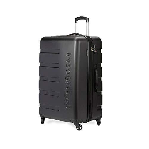 "SwissGear 7366 23"" Expandable Harside Luggage - Black"