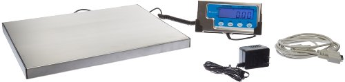 (Salter-Brecknell LPS400 Portable Shipping Scale with LCD Display, 12