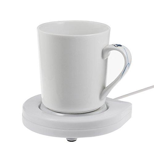 [해외]ESYNiC 머그 컵 따뜻한 커피 컵 따뜻한 책상 커피 따뜻한 음료 따뜻한 책상 사무용 가정용 USB 홈 사용/ESYNiC Mug Warmer USB Cup Warmer Desktop Coffee Tea Warmer Beverage Warmer Heater USB for Desk Office Home Use